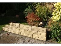 cotswold full block walling 525x140x100 10 pieces + 1/2