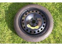 Volvo spare wheel