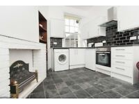 Contemporary, 1 bedroom, 1st floor flat in Causewayside with open lounge/kitchen available October