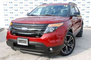 2015 Ford Explorer Sport AWD Tech Pkg