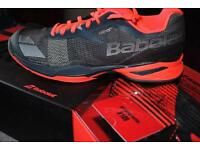 Limited edition babolat jet tennis shoes