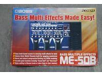 Boss ME-50B Bass Multiple Effects £210