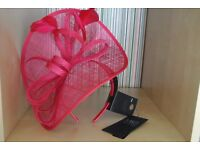 Fascinator - Marks & Spencer - Fuchsia Pink (new with tags)