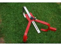Caravan/Trailer wheel clamp