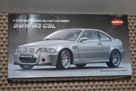 BMW M3 CSL 1:18 Kyosho Model Car