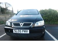 £ 1295 ONO, Vauxhall Zafira, 05 Reg MPV, 1.6 engine,7 seater, Petrol, MOT May 2017, 111 000 miles