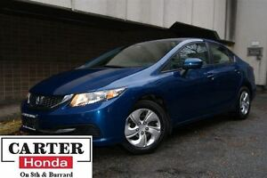 2014 Honda Civic LX + NO ACCIDENTS + CERTIFIED 7YRS/160000KMS!