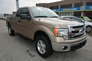 2014 Ford F-150 4X4 SUPER CAB, BLUETOOTH, SATELLITE RADIO, TRAIL