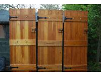 5 Pine Wooden Doors For Sale