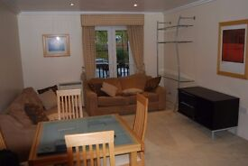 Fully furnished 2 bed and 2 bath flat in Hendon with lift and parking space.