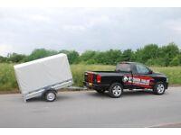 Car trailer single axle 7x4 750kg