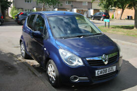 Vauxhall Agila 1.2 i Design 5 door ** Low mileage ** Aircon ** Clean Inside **