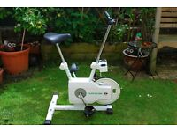 Tunturi Family Exercise Bike With 5 Gears And Speedometer & Timer