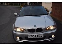BMW 330 Ci M SPORT 2001 CONVERTIBLE MANUAL LOW MILEAGE SUPERB £2995 GREAT CHRISTMAS PRESENT