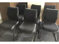 GREY 6 CHAIRS . Very cheap.