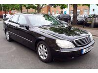 T-Z CARS PRESENT A 2002 51 reg Mercedes-Benz S280 4dr FULL SERVICE HISTORY 6 MONTHS WARRANTY