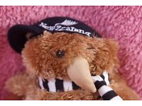 Kiwi Doll (from the adorable range of soft toys) Kiwi and Friends - Hallifax New Zealand
