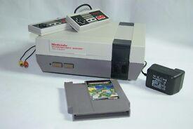 Nintendo NES Games Console & Game