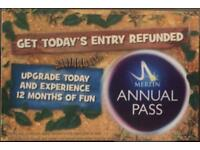Tickets to Chessington World of Adventure - 12 July 2018