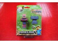 Minecraft Series #2 Villager Blacksmith Brand New Original Packaging £9.99