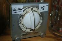 "Very old ""Presto"" Metal Cooking Kitchen Timer - Works great!"