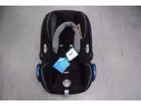 Maxi-Cosi Cabriofix Group 0 Plus Car Seat in Origami Black Brand New Unused £75