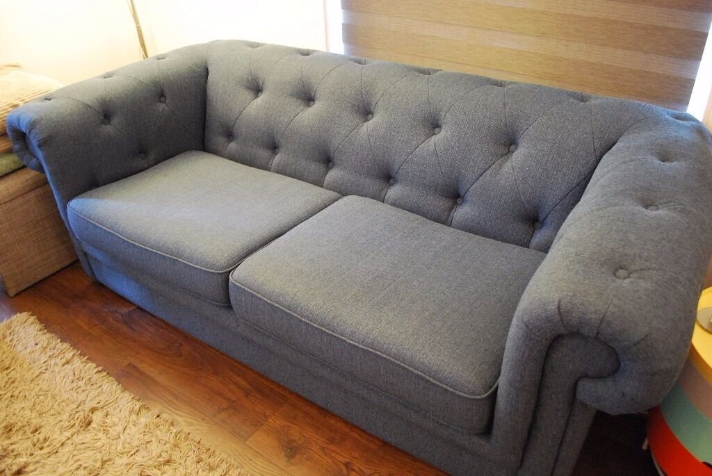 pending pickup dfs chester 3 seater sofa in abby plain blue   stll on dfs rrp pending pickup dfs chester 3 seater sofa in abby plain blue   stll      rh   gumtree