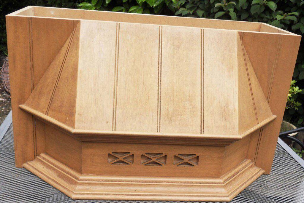 Wooden kitchen cupboard cooker hood canopy 600mm & Wooden kitchen cupboard cooker hood canopy 600mm | in Liphook ...