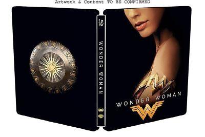 Wonder Woman Exclusive Limited Ed Blu Ray Steelbook  Region B  New