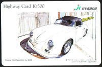 Phone Card Japan - Highway Card 10,500 - Porsche 356a Speedster - By Bow - porsche - ebay.it