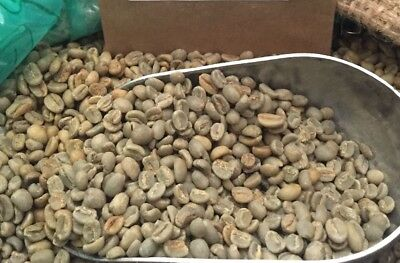 Yirgacheffe Green Coffee - 5# ETHIOPIA YIRGACHEFFE UNROASTED GREEN COFFEE. GRADE 1. CURRENT CROP. NATURAL