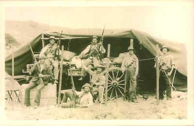 POSTCARD SOCIAL HISTORY YESTERDAYS BRITAIN BOER WAR 1902