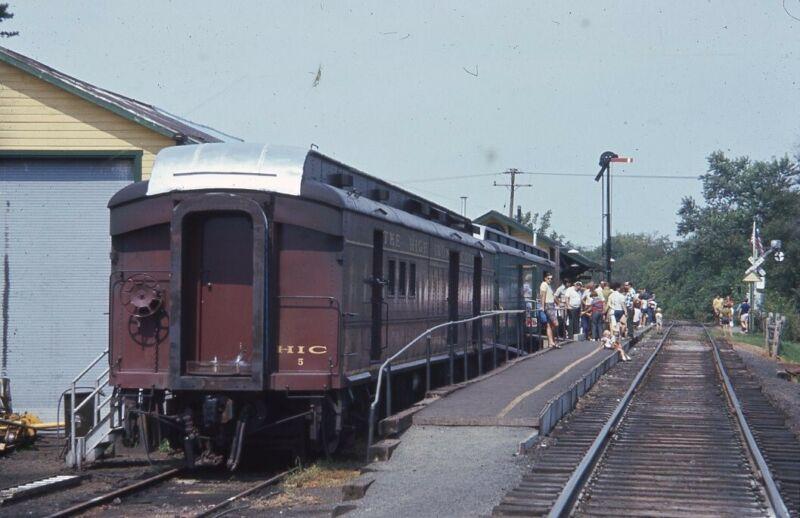 HIGH IRON COMPANY Railroad Train Cars Original 1972 Photo Slide