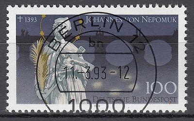BRD 1993 Mi. Nr. 1655 gestempelt BERLIN 12 , mit Gummi TOP! (16633)
