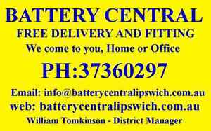 IPSWICH Battery 105Ah/135Ah DEEP CYCLE. 4X4, 4WD, Camping, Solar Rosewood Ipswich City Preview