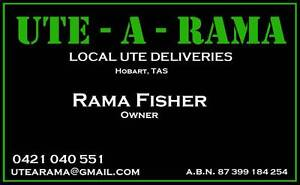 Ute-A-Rama Local Ute Deliveries Hobart & Surrounds Derwent Park Glenorchy Area Preview