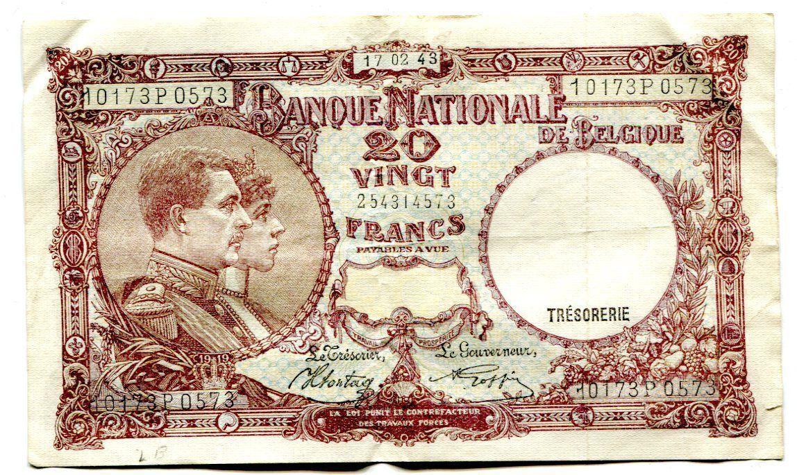 Reproductions Belgian Congo 100 Francs 1912 UNC