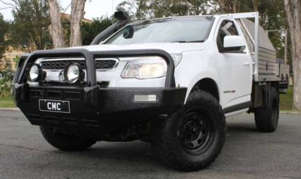 2015 HOLDEN COLORADO SINGLE CAB UTE TURBO DIESEL 4X4 REGO AND RWC Southport Gold Coast City Preview