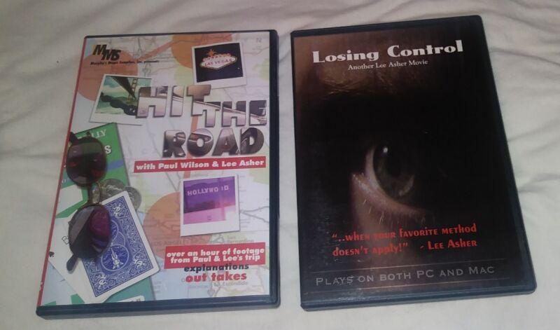 HIT THE ROAD DVD + LOSING CONTROL LEE ASHER PAUL WILSON EARL NELSON DILL KRANZO