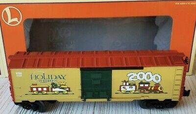 ✅LIONEL CHRISTMAS 2000 BOX CAR 6-26272! FOR O GAUGE TRAIN SET HAPPY HOLIDAYS