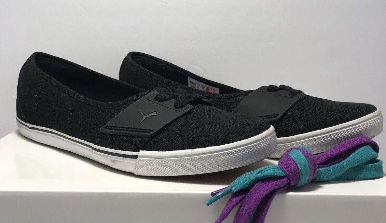 Women's Puma Suede Platform Sneaker, Size 6 M - Black