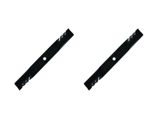 """(2) 42"""" Mower Deck Blades for John Deere AM13"""