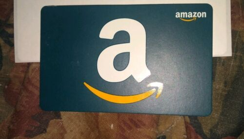 Amazon Used Collectible Gift Card NO VALUE FD-8426804  - $32.00