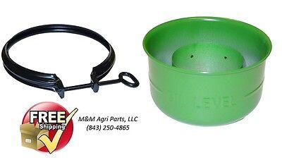 Oil Bath Air Cleaner Cup Clamp John Deere 1010 2010 50 520 530 Tractor