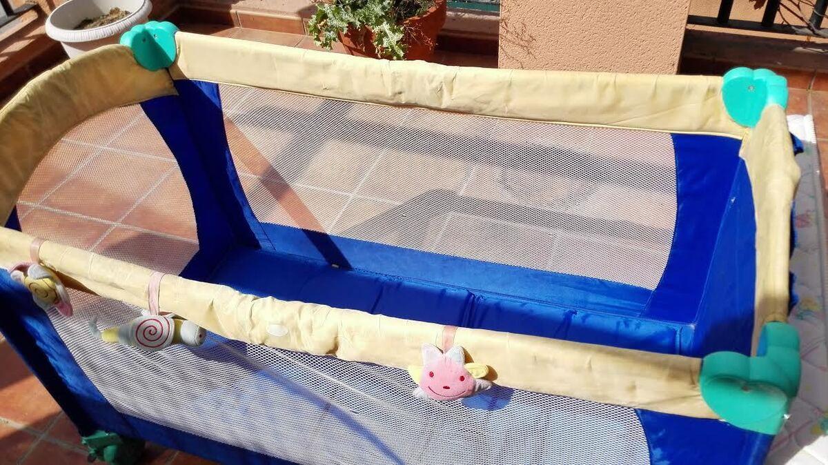Cuna de viaje colchon cama bebe san agustin de guadalix for Mueble cambiador prenatal