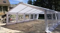 Tent rentals for all events! Chairs/Tables&More
