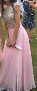 Gorgeous light pink dress