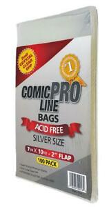 Comic Book Bags (Mylar) & Boards / Comic Boxes (Supplies)