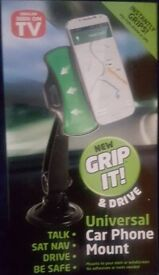 Grip it & Drive Car Phone Mount