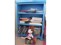 Ikea Mammut blue bookcase